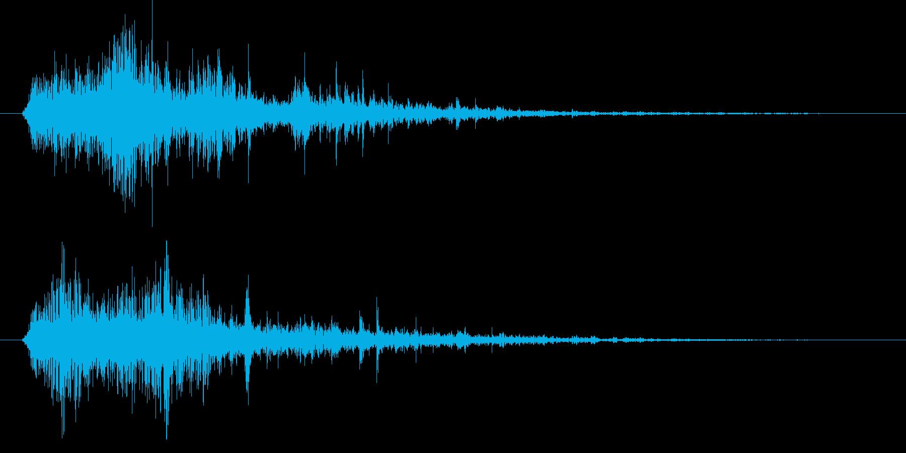 燃え盛る炎・火炎系の魔法(低レベル)sの再生済みの波形