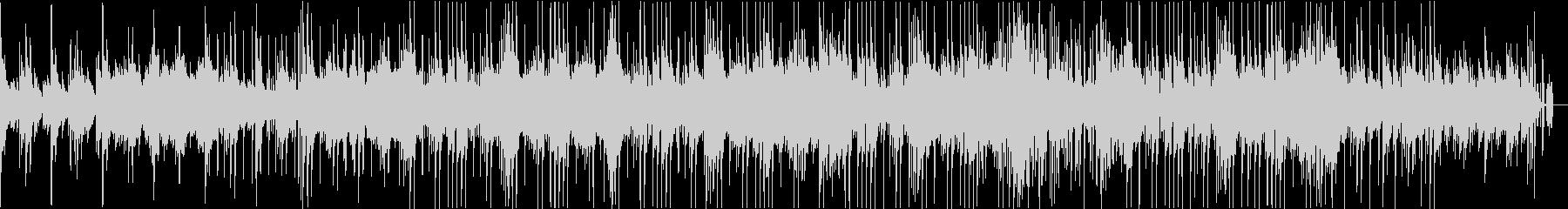 ピアノを基調としたアンビエントサウンドの未再生の波形