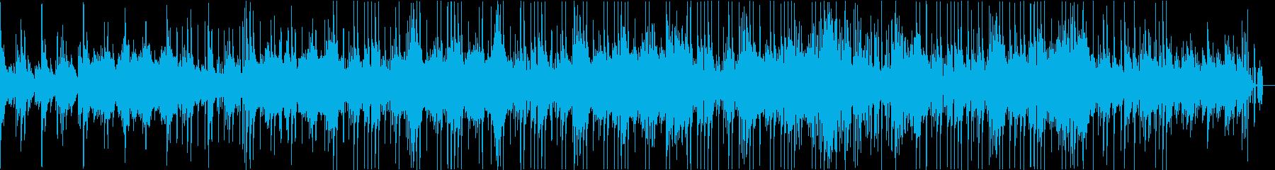 ピアノを基調としたアンビエントサウンドの再生済みの波形
