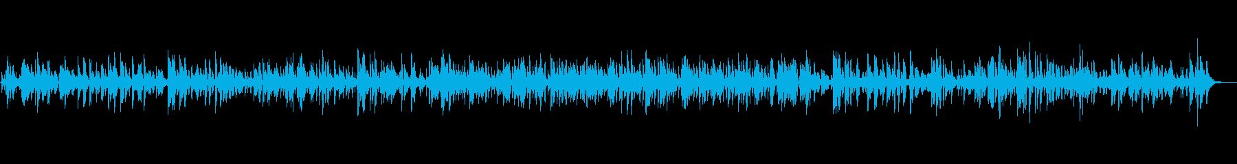 ジャズで癒される大人のムードBGMの再生済みの波形