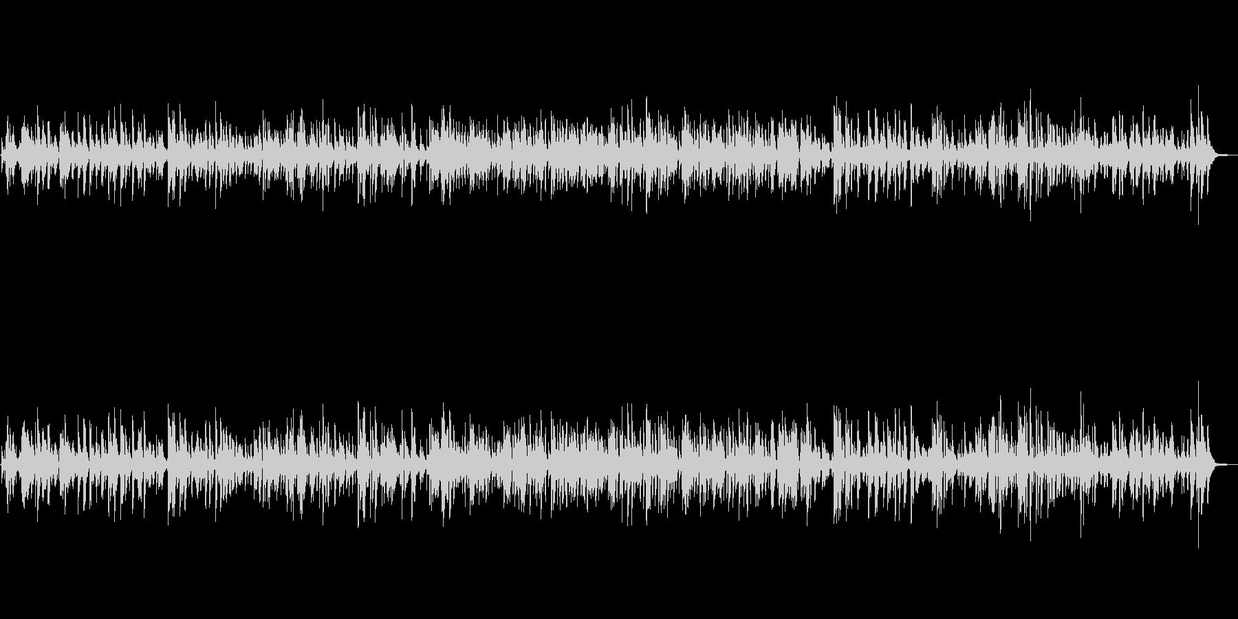 ジャズで癒される大人のムードBGMの未再生の波形