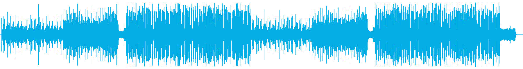 洋楽 Future Pop メロウな感じの再生済みの波形