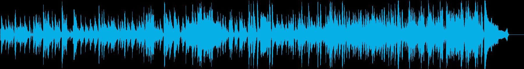 落ち着いた雰囲気のスタンダードJazzの再生済みの波形