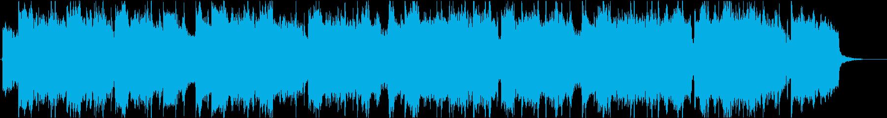 ゆったり爽やか南国ウクレレハワイアンfの再生済みの波形