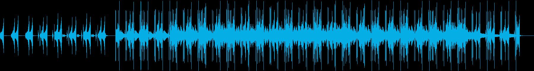 幻想的なチル・ヒップホップの再生済みの波形