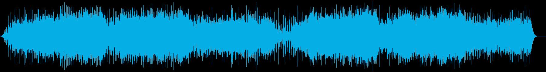 宇宙の夜明けのイメージサウンドの再生済みの波形