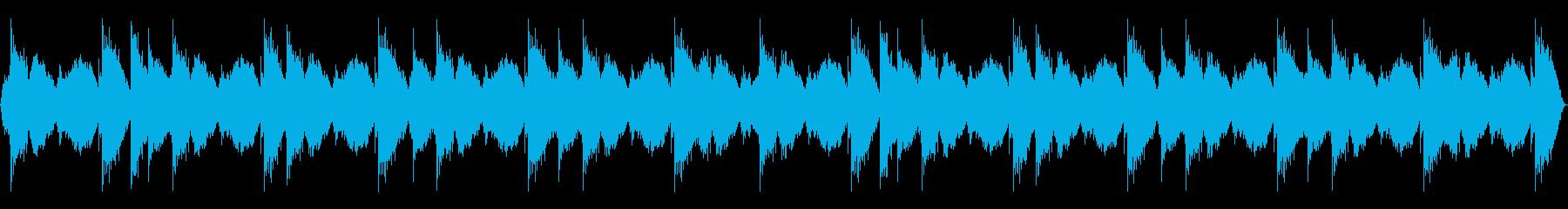 全体にモーションパッドとシタールを...の再生済みの波形