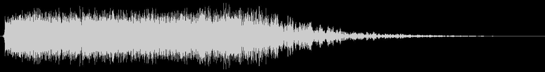 Big Echoey Sputter 3の未再生の波形