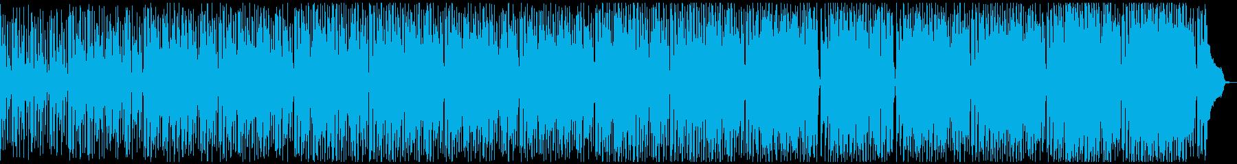 ポップ ロック アンビエント アク...の再生済みの波形