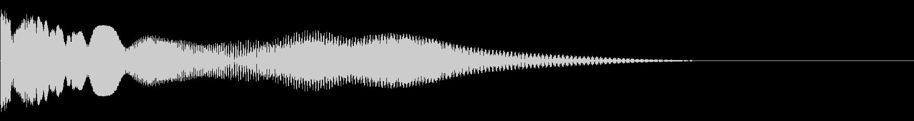 蚊の未再生の波形