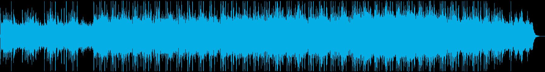 琴が幻想的な雰囲気の和風チルステップの再生済みの波形