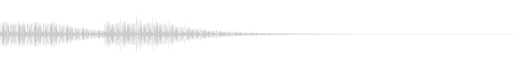 アプリやゲームの禁止操作音の未再生の波形