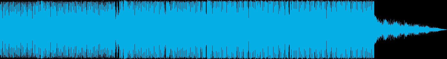 綺麗で切ない感じの4打ちトランスです。の再生済みの波形
