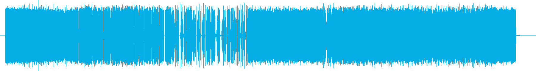 Pop and dance image's reproduced waveform