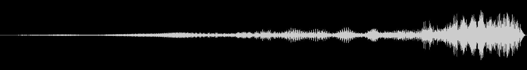 リバース ブラックアウトアウェイク02の未再生の波形