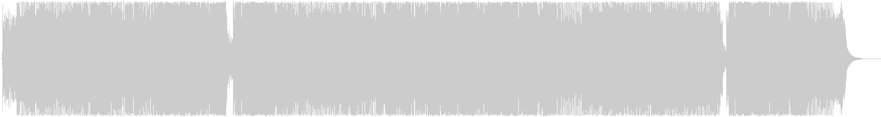 アニメ・ゲーム系女性Voポップスの未再生の波形