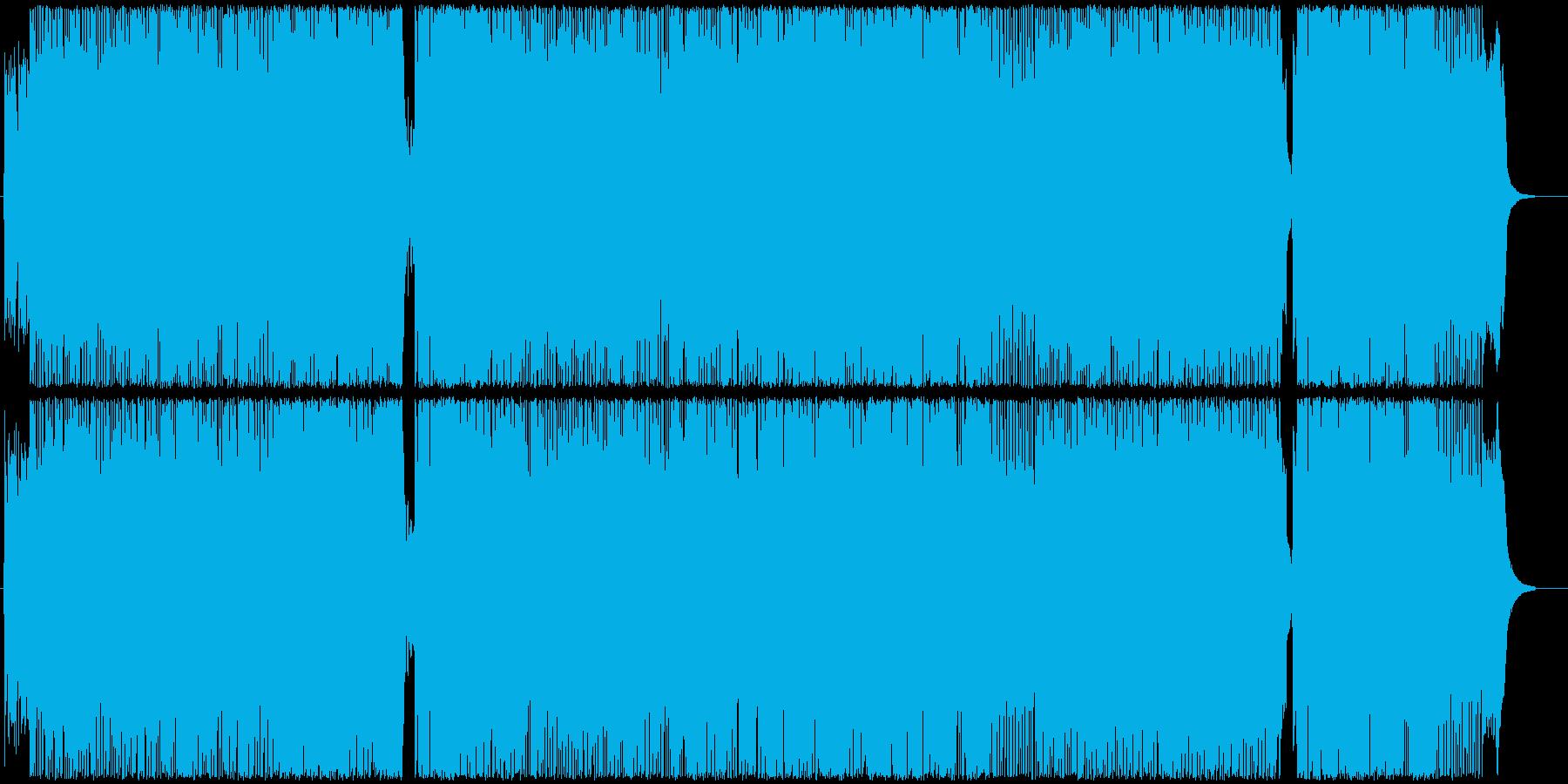 アニメ・ゲーム系女性Voポップスの再生済みの波形