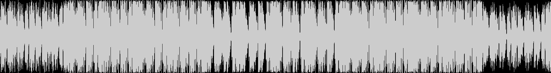 大人の雰囲気のハウスミュージックループの未再生の波形