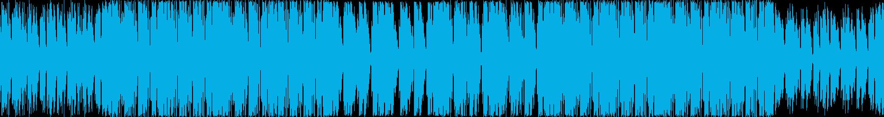 大人の雰囲気のハウスミュージックループの再生済みの波形