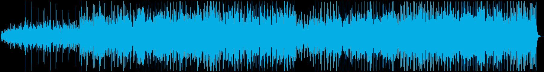 琴の音色が中心の優美で軽快な和風楽曲の再生済みの波形