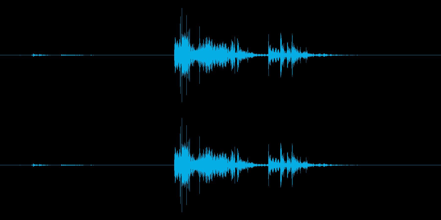 GameFX ゲーム内 お金獲得音 2の再生済みの波形