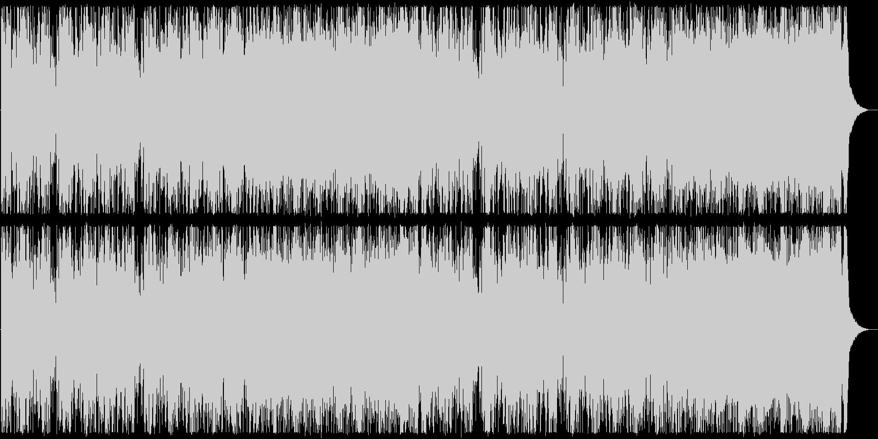 激しくダークなエレクトロDUBSTEPの未再生の波形