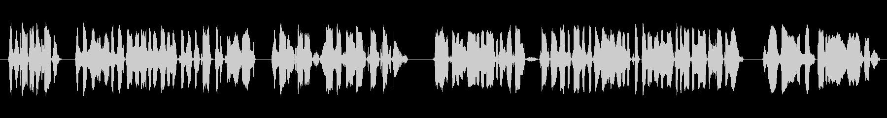 放送アナウンサー、男性の声:一般的...の未再生の波形