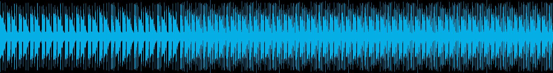 ホラー系スローダウンブレイクビーツの再生済みの波形