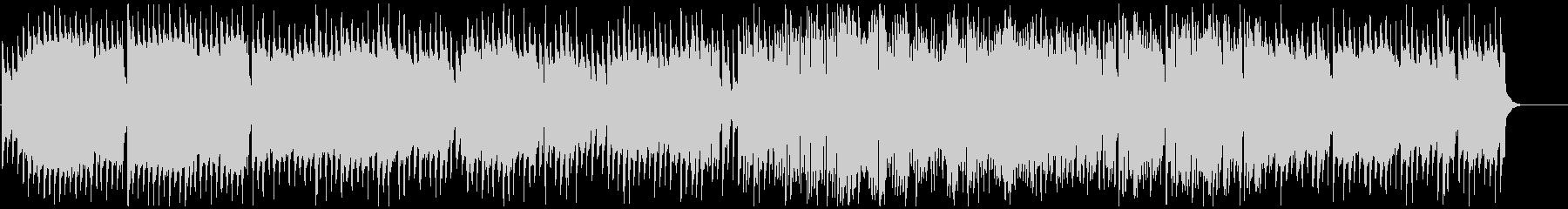 トイピアノとやわらかい音色の古いサックスの未再生の波形