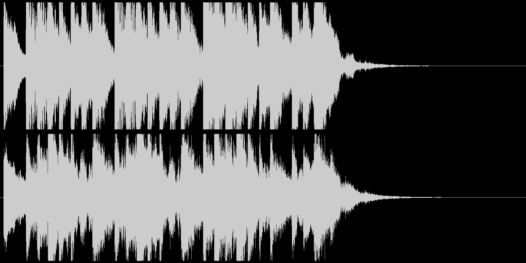怪しい箏(琴)のジングルAの未再生の波形