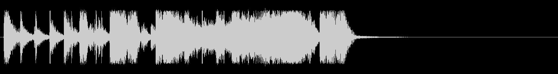 シネマティック フラメンコの未再生の波形