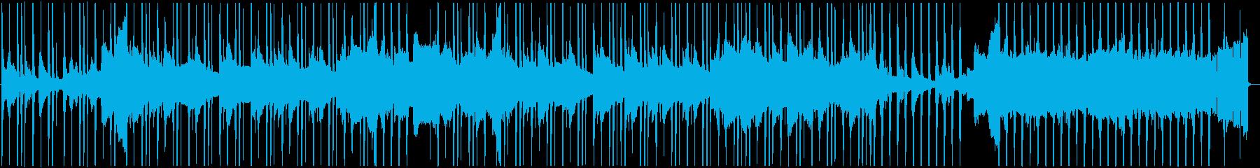 ノスタルジックなLo-Fiピアノインストの再生済みの波形