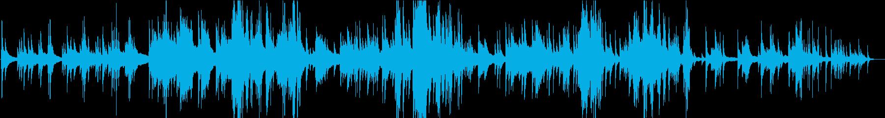 ソロピアノ。エレガントでシンプル、...の再生済みの波形