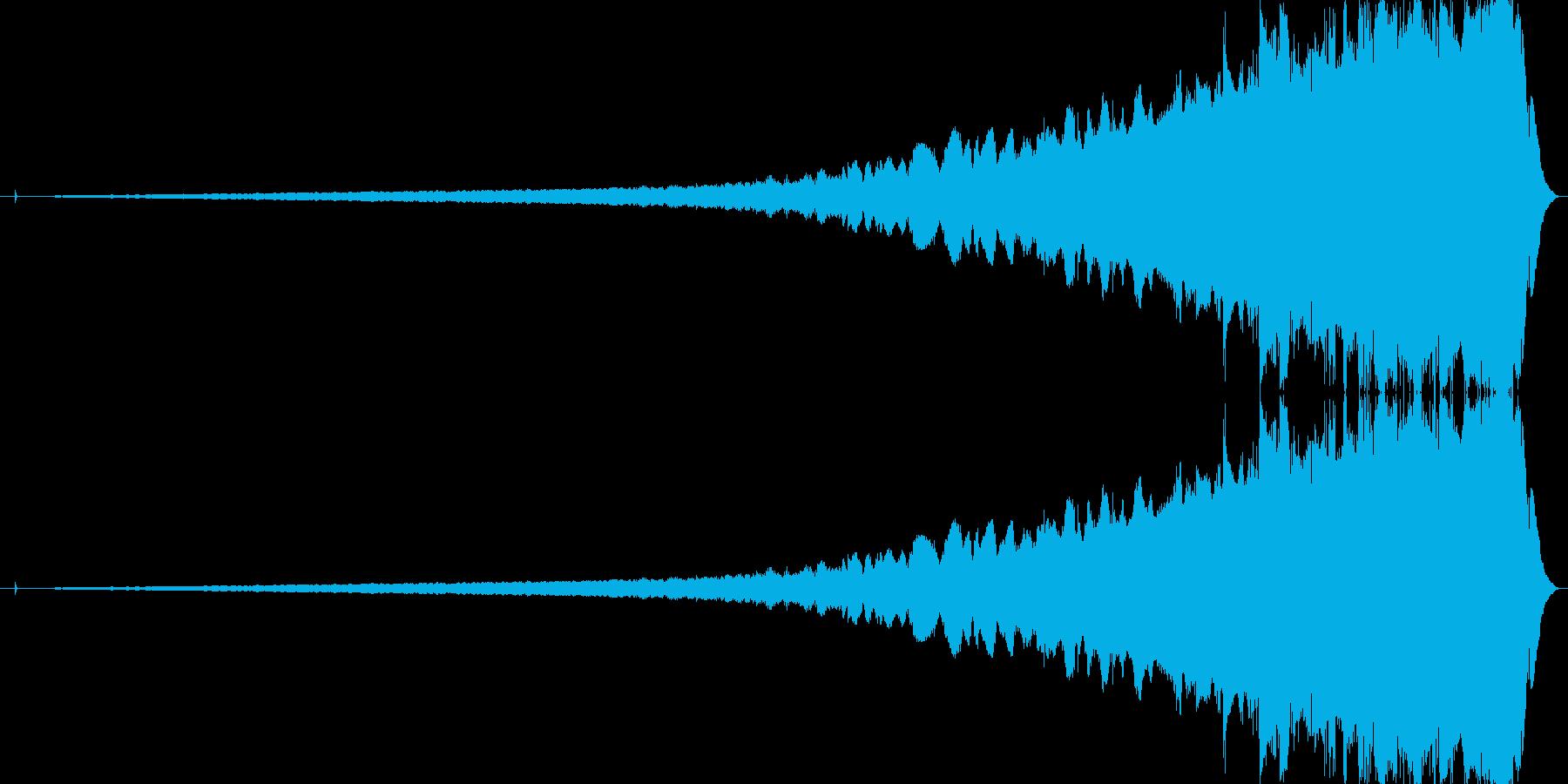 きろりろりろりろみたいな音。の再生済みの波形