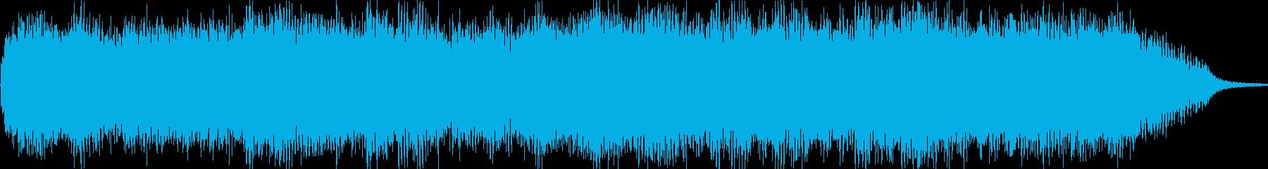 空間に存在する音の残響の再生済みの波形