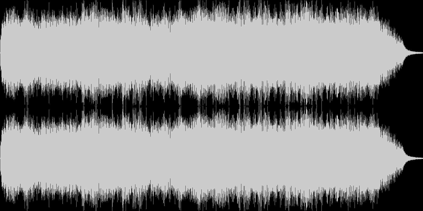 空間に存在する音の残響の未再生の波形