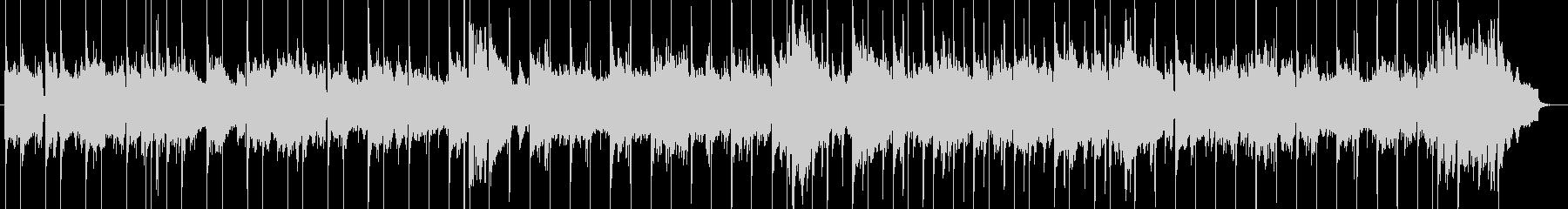 R&BスローバラードBGMの未再生の波形