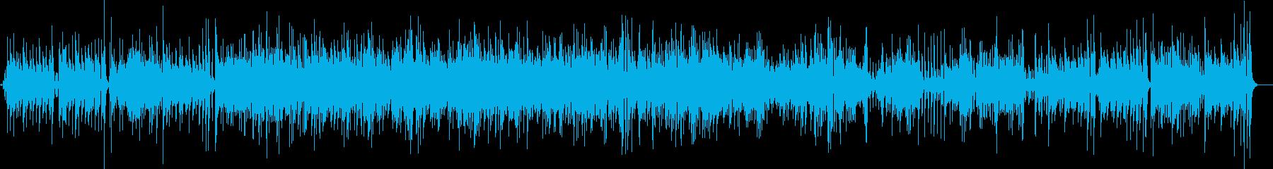 サウンドスケープを支配するバイブを...の再生済みの波形