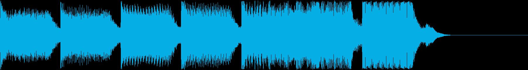 AI メカ/ロボ/マシン動作音 12の再生済みの波形
