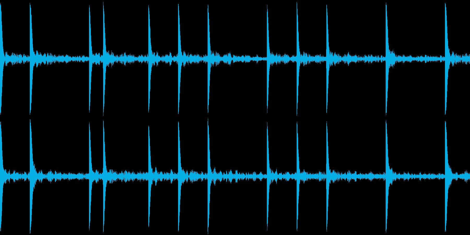 EDM PluckLoop5 音楽制作用の再生済みの波形