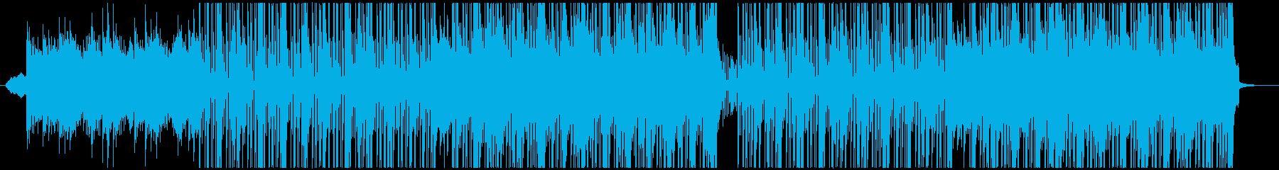 洋楽、チルアウト、R&Bトラック♫の再生済みの波形