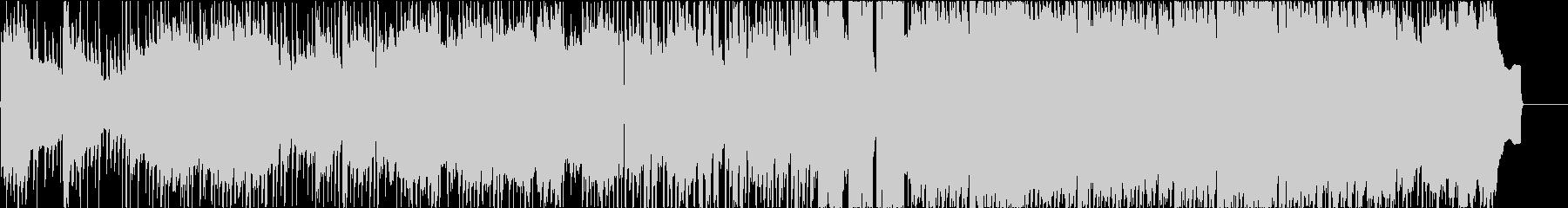 ちょっと切ない系フォークロックポップのんの未再生の波形