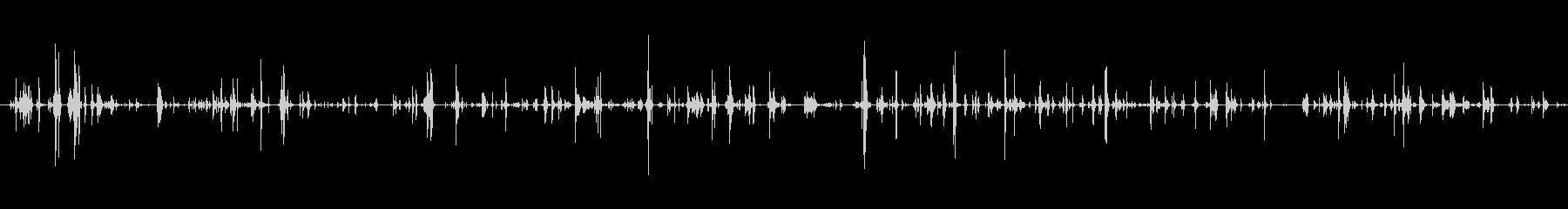 キー キーホルダースモールラトルシ...の未再生の波形