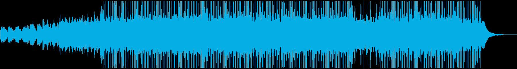 ポップ。 R&B。フュージョンチル。の再生済みの波形