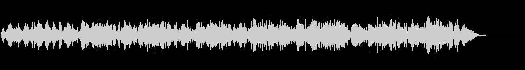 生演奏の弦楽四重奏「トロイメライ」の未再生の波形