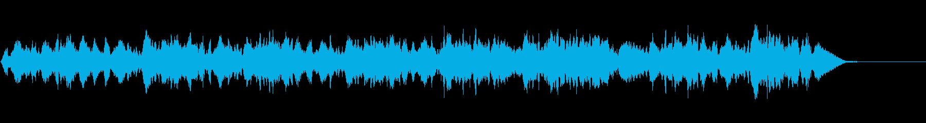 生演奏の弦楽四重奏「トロイメライ」の再生済みの波形