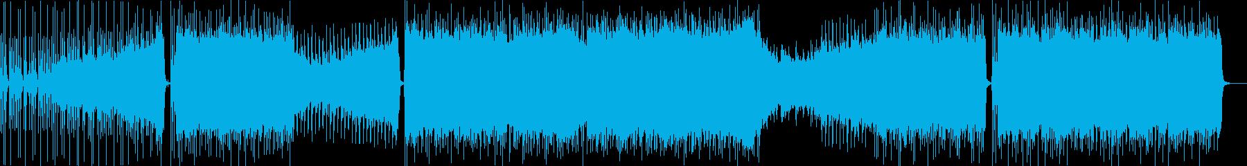 モダンなインディーロックの再生済みの波形