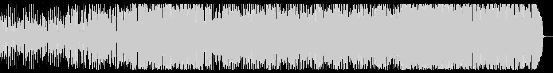 軽快で少し切ないフュージョンロックの未再生の波形