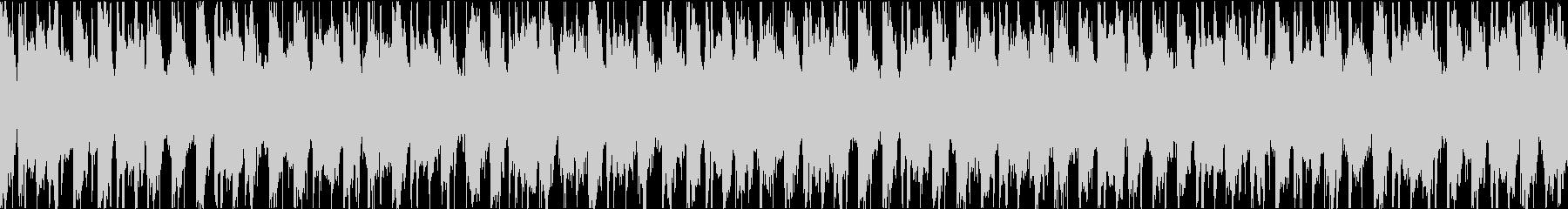 ピアノが特徴のEDM ファンク ループの未再生の波形
