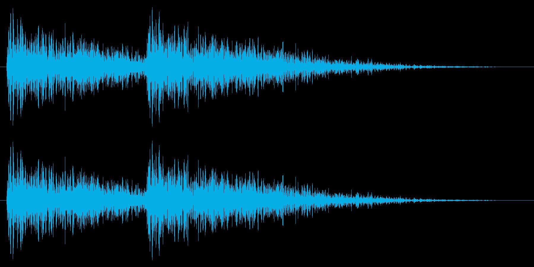 ババン(クイズ・問題です)の再生済みの波形